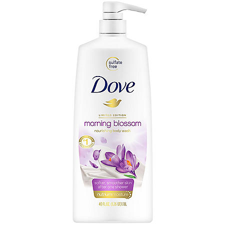 Dove Body Wash Morning Blossom (40 oz.)