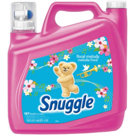 Snuggle® Floral Melody Fabric Softener - 150oz