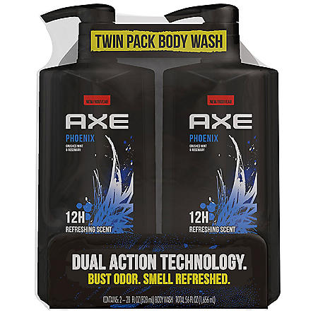 AXE Phoenix Body Wash for Men (28 fl oz., 2 ct.)