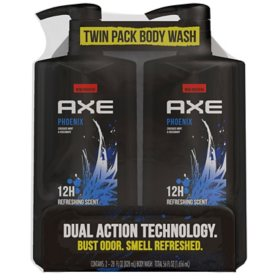 AXE Body Wash for Men Phoenix (28 oz., 2 ct.)