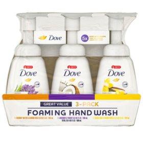 Dove Foaming Liquid Hand Soap (6.8 fl. oz., 3 pk.)