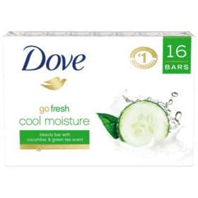 Dove Go Fresh Cool Moisture Beauty Bar (4 oz., 16 ct.)