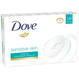 Dove Beauty Bar, Sensitive Skin (4 oz., 16 ct.)