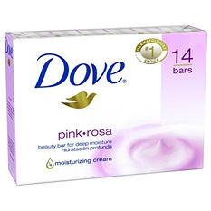 Dove Beauty Bar, Pink (4 oz., 14 bars)