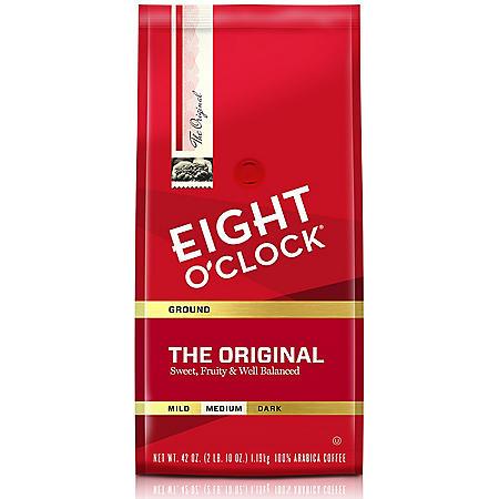 Eight O'Clock Original Ground Coffee, Medium Roast (42 oz.)
