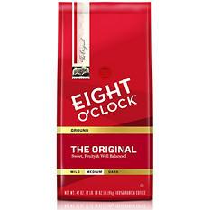 Eight O'Clock Original Ground Coffee (42 oz.)