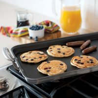 Nordic Ware Aluminum High-Sided Two Burner Griddle