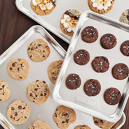 Nordic Ware Naturals 3-Piece Cookie Sheet Set