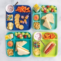 16-Piece Microwave Safe Summer Picnic and Party Set