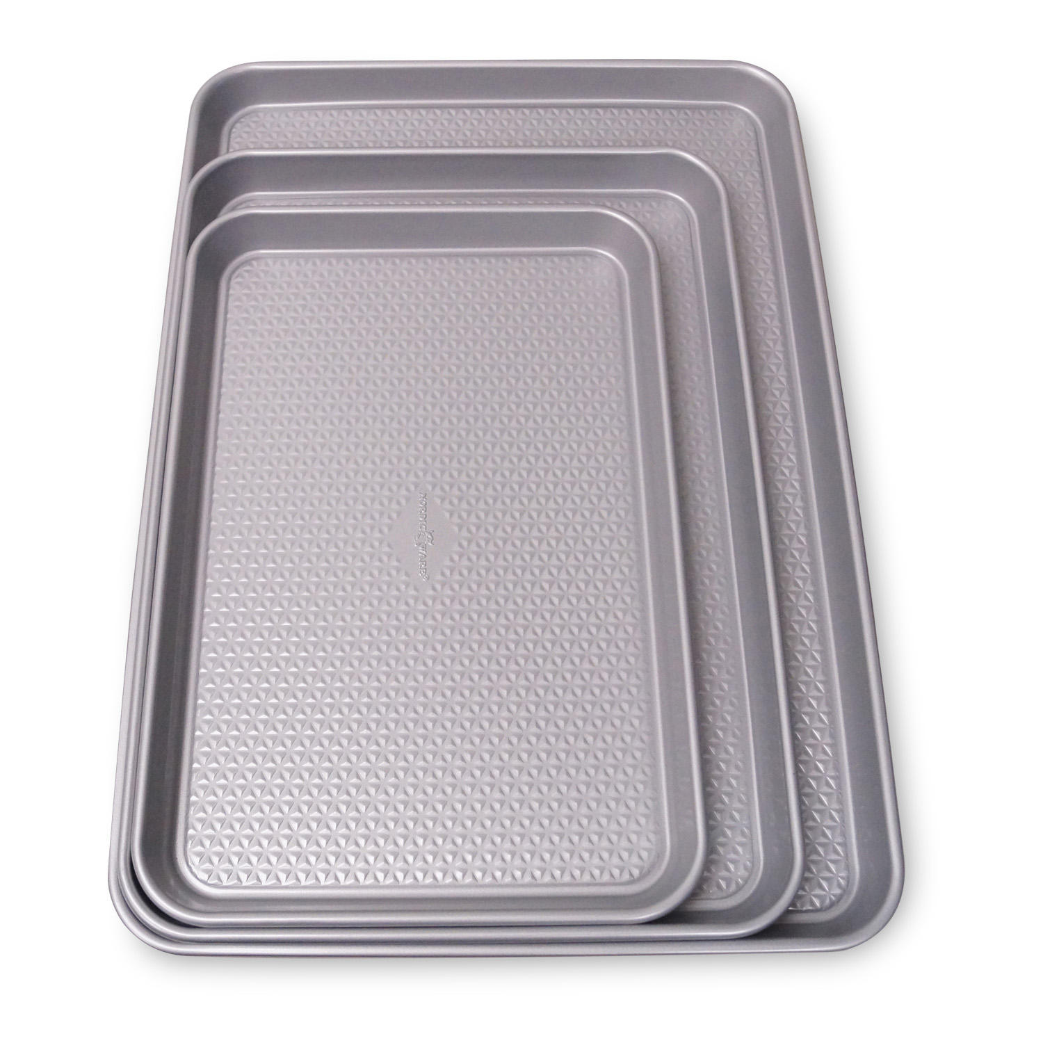 Nordic Ware 3-Piece Nonstick Baking Sheet Pan Set