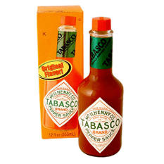 Tabasco® Brand Pepper Sauce - 12 oz. bottle