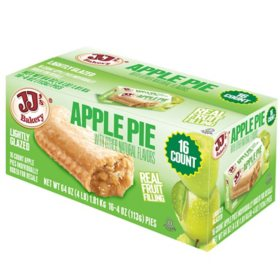 JJ's Bakery Apple Snack Pies (4oz / 16pk)