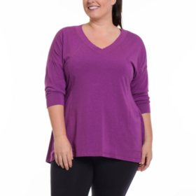 Rainbeau Curves Plus Size Cathy Pullover