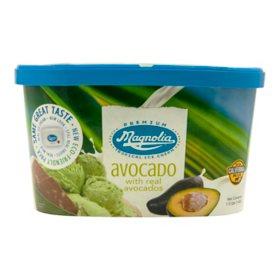 Magnolia Avocado Premium Tropical Ice Cream (48 fl. oz.)