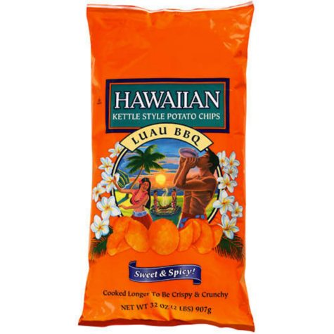 Hawaiian Luau BBQ Potato Chips (32 oz.)