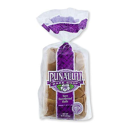 Punalu'u Taro Sweetbread Rolls (12 ct.)