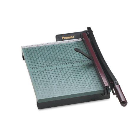 "Premier StakCut Paper Trimmer - 30 Sheets - Wood Base - 12 7/8"" x 17-1/2"""