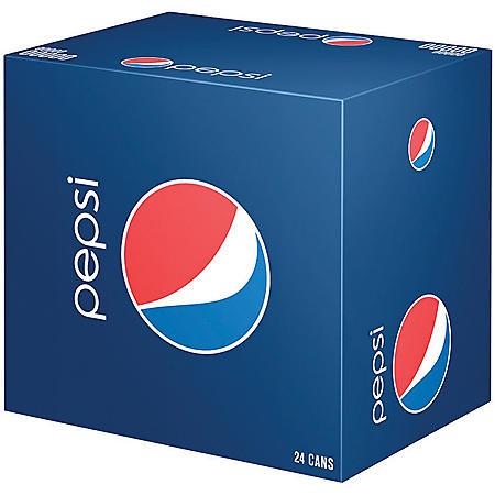 Pepsi (12 oz. cans, 24 pk.)