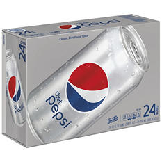 Diet Pepsi (12 oz. cans, 24 ct.)