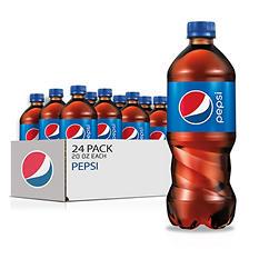 Pepsi (20 oz. bottles, 24 pk.)