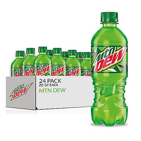 Mountain Dew (20 oz., 24 pk.)