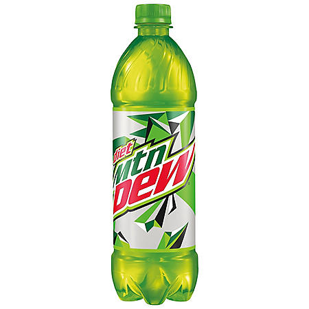 Diet Mountain Dew (24 oz., 24 pk.)