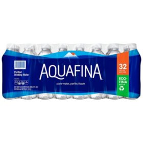Aquafina Purified Drinking Water (16.9oz / 32pk)