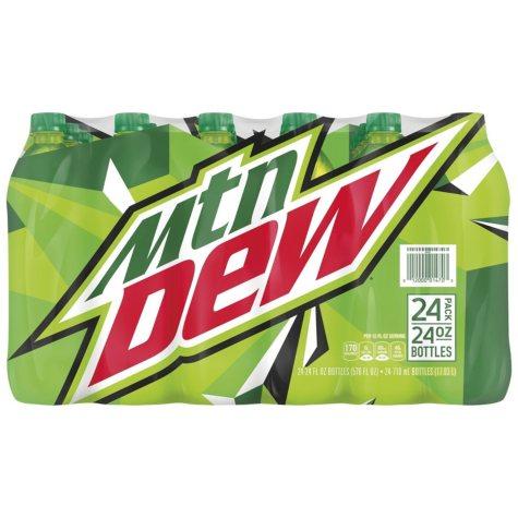 Mountain Dew (24 oz. bottles, 24 pk.)