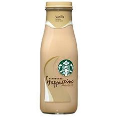 Starbucks Frappuccino Coffee Drink, Vanilla (13.7 oz. bottles, 12 ct.)