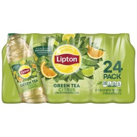 Lipton Green Tea Citrus Iced Tea (16.9 fl. oz. bottles, 24 pk.)