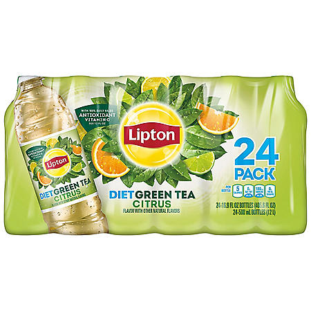 Lipton Green Iced tea with Citrus (16.9 oz., 24 pk)