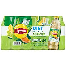 Lipton Diet Green Tea with Citrus ( 16.9 oz. bottles, 24 pk.)