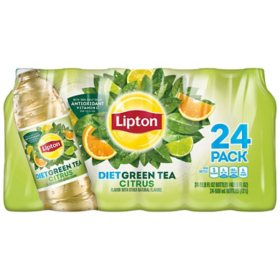 Lipton Green Iced tea with Citrus (16.9 fl. oz. bottle, 24 pk)