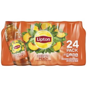 Lipton Peach Iced tea (16.9 oz., 24 pk)