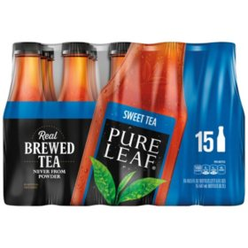 Pure Leaf Iced Tea, Sweet (18.5 fl. oz. bottles, 15 ct.)