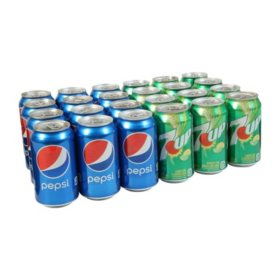 Pepsi & 7UP Duo Variety Pack (12oz / 24pk)