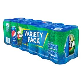 Pepsi and 7UP Duo Variety Pack (12 fl. oz., 12 pk.)