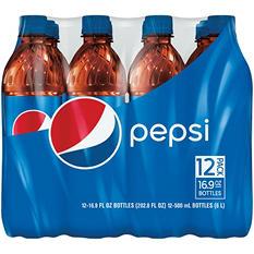 Pepsi (16.9 oz. bottle, 12 pk.)