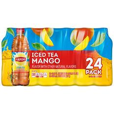 Lipton Mango Iced Tea (16.9 oz. bottles, 24 pk.)