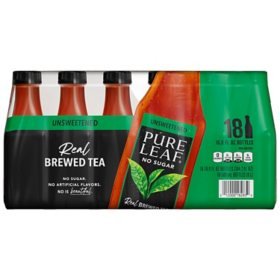 Pure Leaf Unsweetened Iced Tea (16.9oz / 18pk)