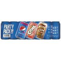 Pepsi Soda 3 Flavor Party Pack (12 oz., 28 pk.)