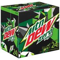 Mountain Dew Zero Sugar (12 oz. cans, 24 pk.)