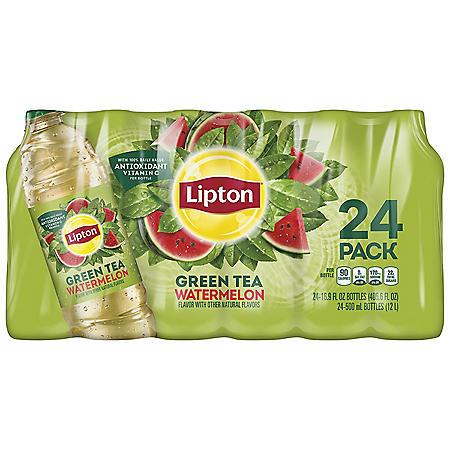 Lipton Green Tea Watermelon Iced Tea (16.9oz / 24pk)