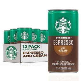 Starbucks DoubleShot Espresso (6.5oz / 12pk)