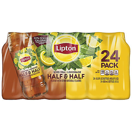 Lipton Half & Half Iced Tea & Lemonade (16.9 oz., 24 pk.)