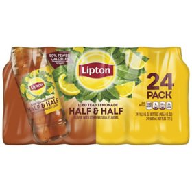 Lipton Half & Half Iced Tea & Lemonade (16.9 fl. oz., 24 pk.)