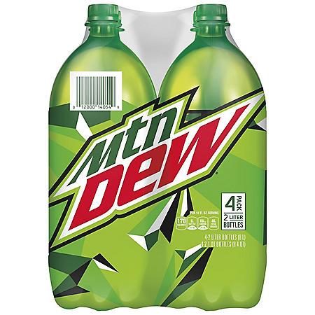 Mountain Dew (2L bottles, 4 pk.)