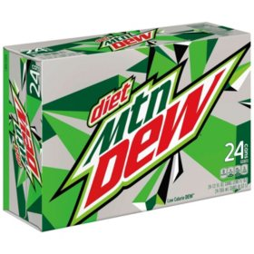 Diet Mountain Dew (12 oz., 24 pk.)