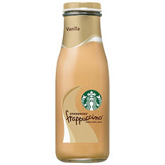 Starbucks Frappuccino Coffee Drink, Vanilla (13.7 oz. bottle)