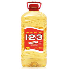 1-2-3 Vegetable Oil - 1 gal.